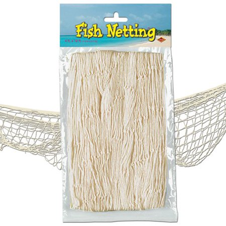 The Beistle Company Fish Netting Wall - Decorative Fish Netting