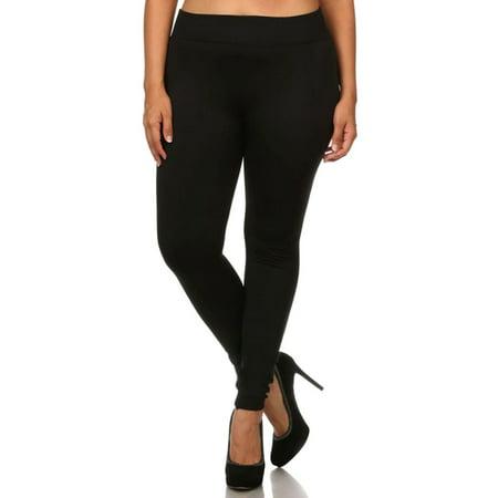 Womens Leggings Plus Fleece Lined High Performance Seamless Leggings Womens Plus Performance Fleece