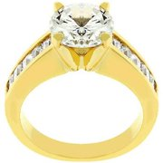 For Her Anniversary Ring In Gold- Size- 09