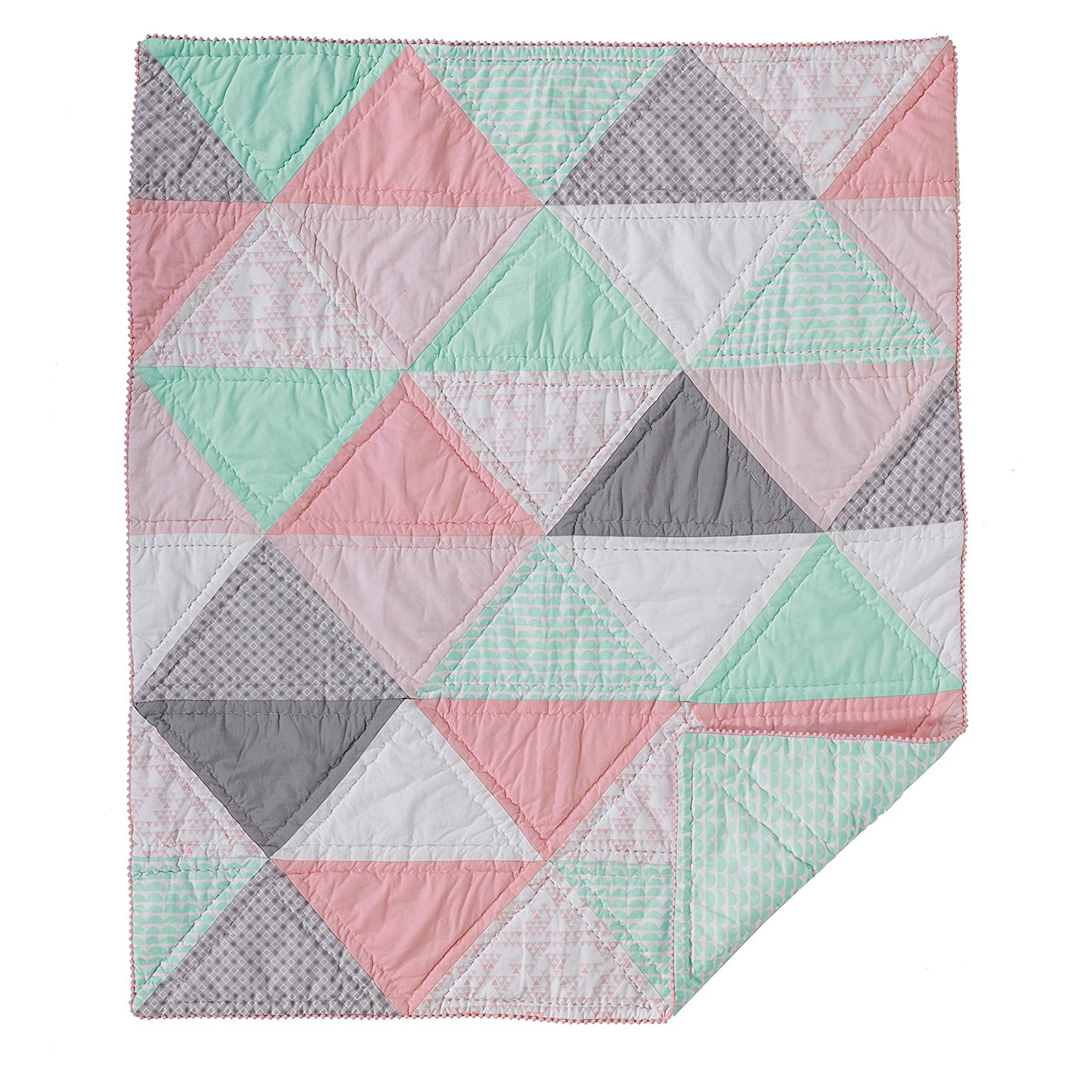 Lolli Living Sparrow - Cotton Filled Comforter - Triangle (Patchwork)
