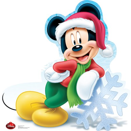 Mickey Mouse Cardboard Cutout (Advanced Graphics Mickey Mouse Holiday - Disney Cardboard)