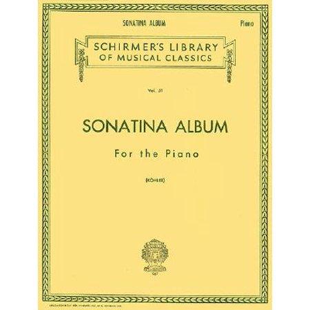 Sonatina Album : Piano Solo