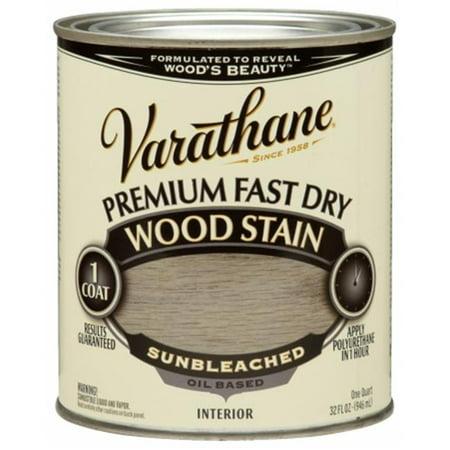 Varathane 262011 1 Quart Sunbleached Fast Dry Wood Stain