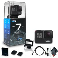 GoPro HERO7 Black - Waterproof Action Camera with Touch Screen, 4K HD Video