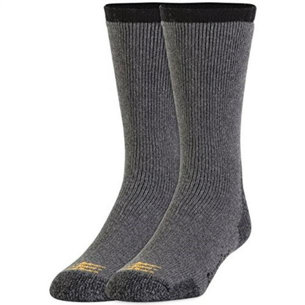 Camping Hiking Gold Toe Mens 2-Pk Powersox Heavy Cushion Socks Bark 10-13 Trekki