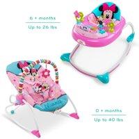 Disney Baby Minnie Walker And Rocker Bundle