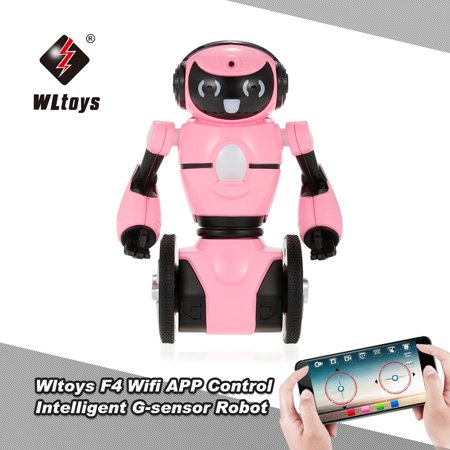Wltoys F4 0 3MP Camera Wifi FPV APP Control Intelligent G-sensor Robot  Super Carrier RC Toy Gift for Children Kids Entertainment