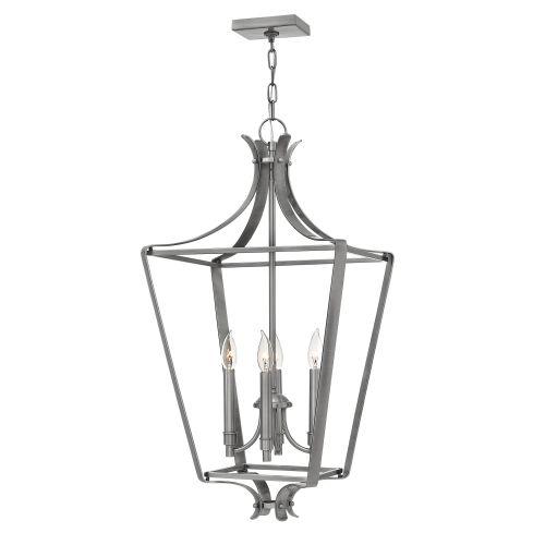 Hinkley Lighting 4494 4 Light 1 Tier Cage Chandelier from...