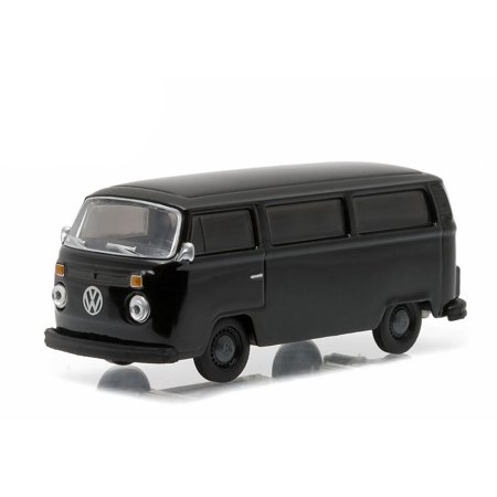 1978 Type 2 Bus Black Bandit 1/64 by Greenlight 27840 C, Limited Edition. Has Rubber Tires.Walmartes in a blister pack. Detailed Interior,.., By