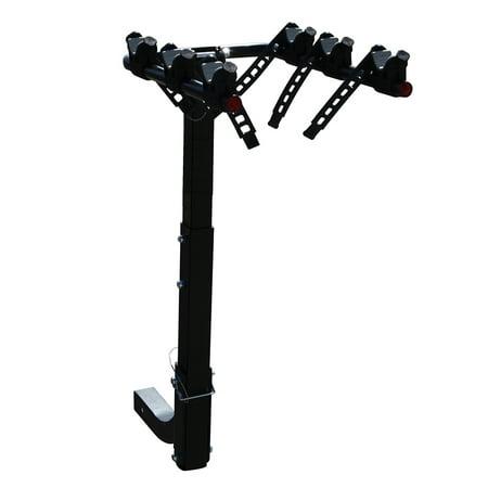 Bike 2 Receiver Hitch (Masione 3-Bike Carrier Rack Fits 2'' Hitch Receiver Bike Rack SUV VAN)