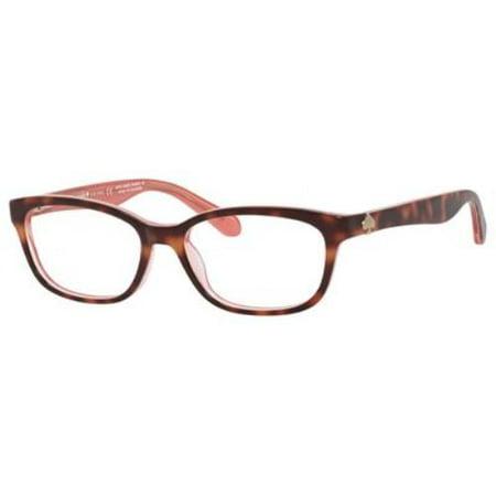 KATE SPADE Eyeglasses BRYLIE 0QTQ Havana Pink 50MM