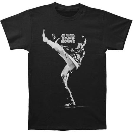 American Bowfin Black Caviar (David Bowie Men's  Man Who Sold... Slim Fit T-shirt Black)