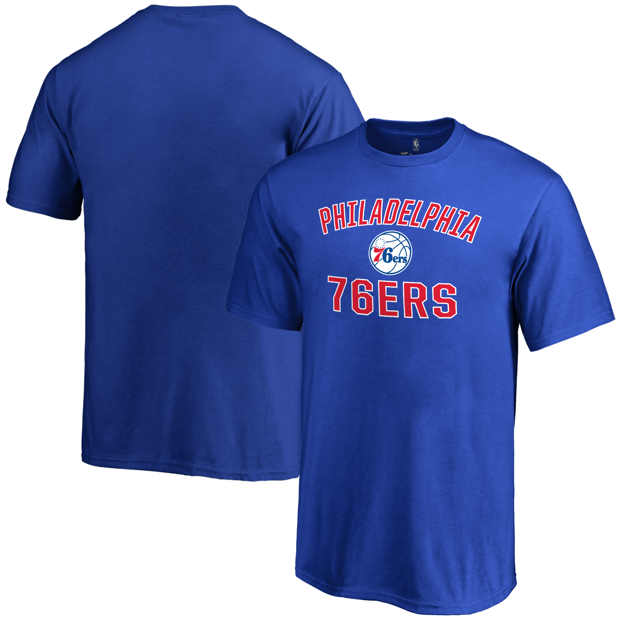 Philadelphia 76ers Youth Victory Arch T-Shirt - Royal