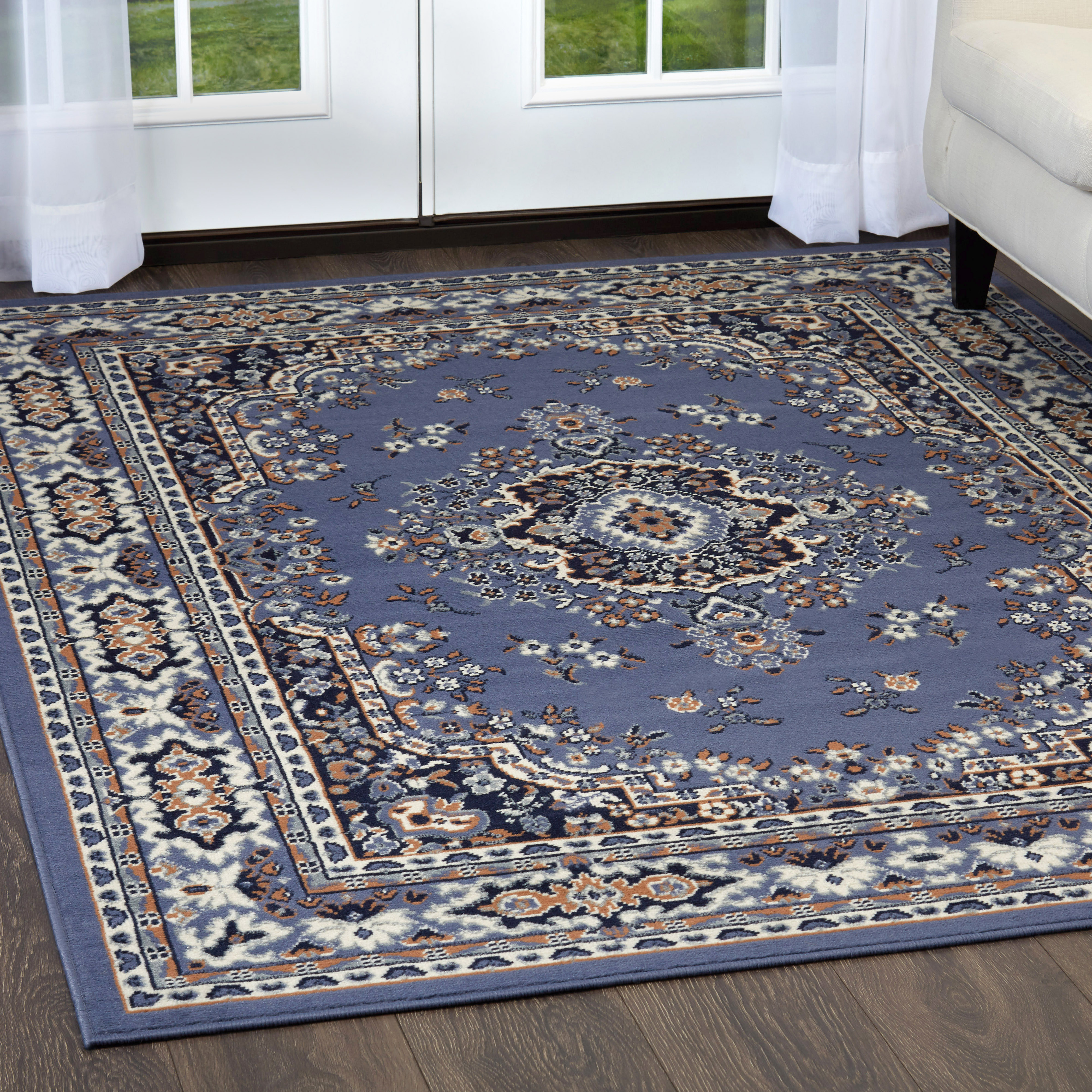 Home Dynamix Premium Traditional Oriental Medallion Area Rug