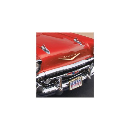 Eckler's Premier  Products 57-130564 Chevy Hood Or Trunk Script,