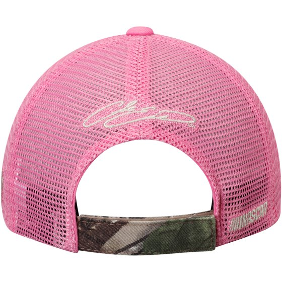 Chase Elliott Checkered Flag Girls Youth True Timber Pretty  N Pink  Adjustable Hat - Camo Pink - OSFA - Walmart.com a58261ea44a1