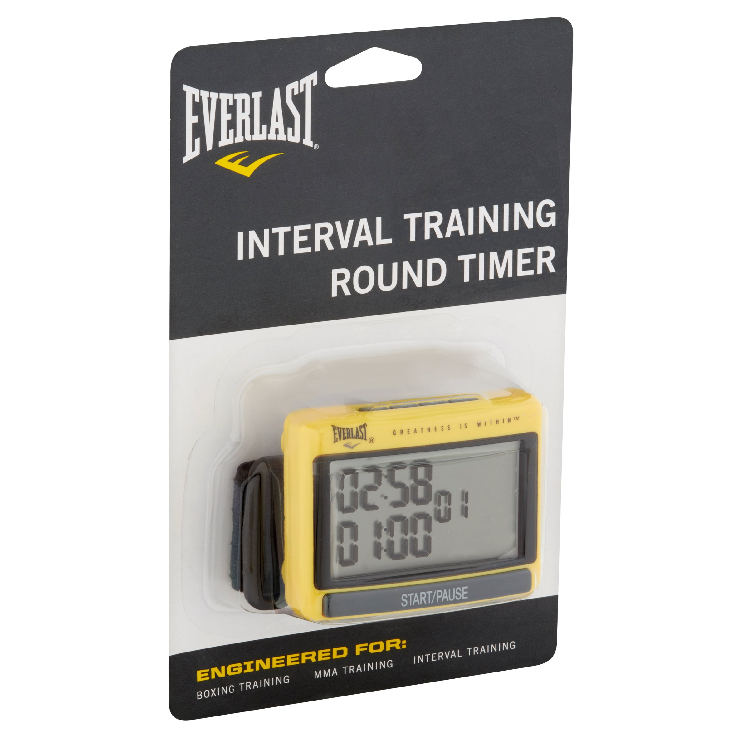 Everlast Interval Training Round Timer How To Build 28 Led Clock