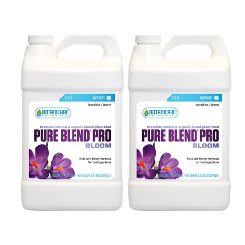 Botanicare 1 Gal Pure Blend Pro Bloom Organic Plant Food, 2-Pack
