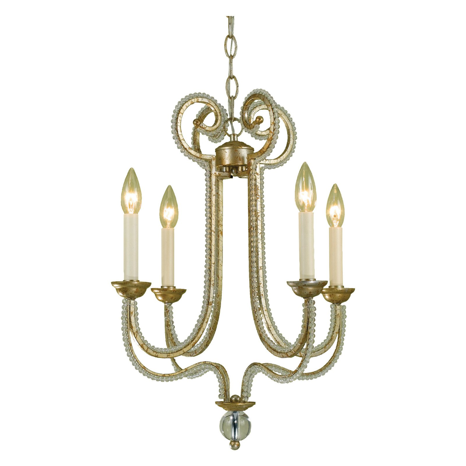 AF Lighting 6773 Four-Light Chandelier