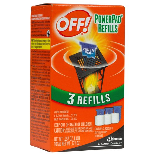 Off PowerPad Mosquito Lamp Refill