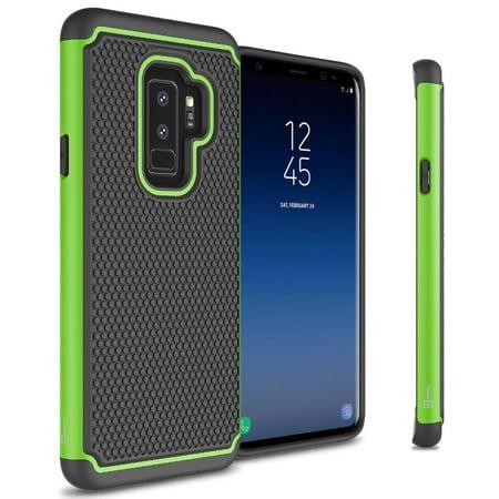 lowest price 8103b 2d825 CoverON Samsung Galaxy S9 Plus Case, HexaGuard Series Hard Phone Cover -  Walmart.com