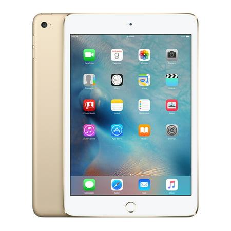 Apple iPad mini 4 (Refurbished) 16GB Wi-Fi - Gold