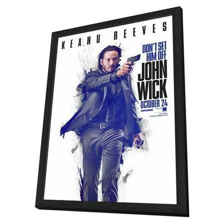 John Wick 2014 27x40 Framed Movie Poster Walmart Com