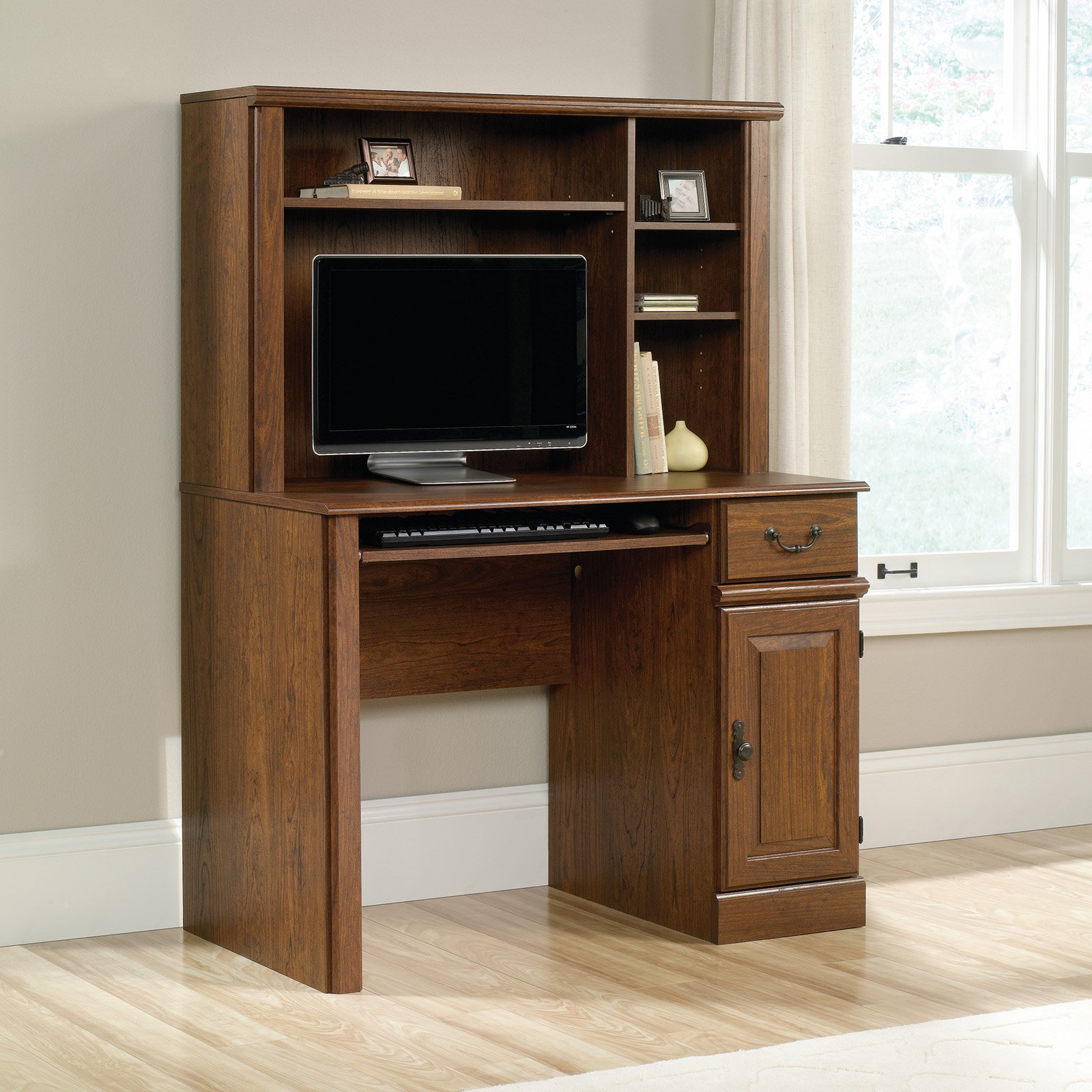 Sauder Orchard Hills 42 in. Computer Desk with Hutch