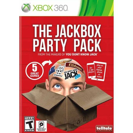 The Jackbox Party Pack (Xbox 360) - Walmart.com