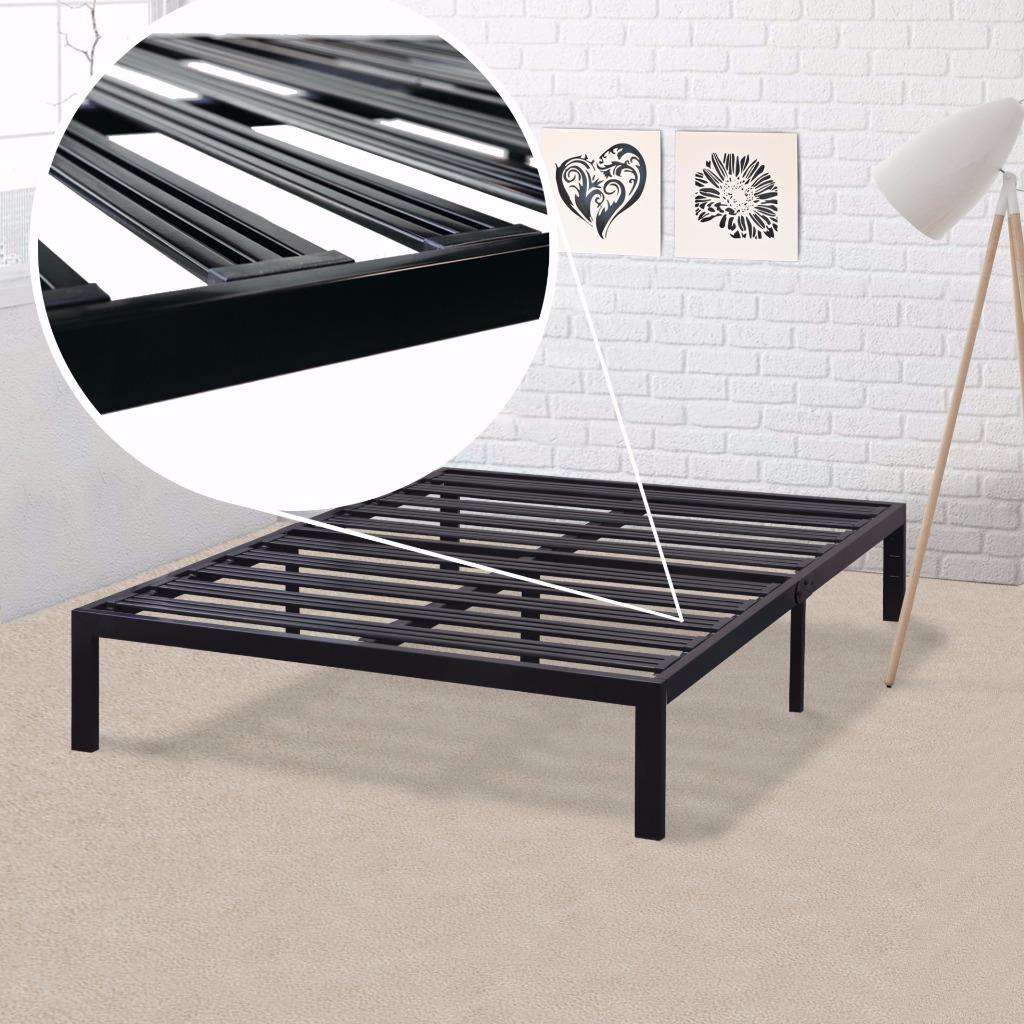 best price mattress model e heavy duty steel slat platform bed size box spring