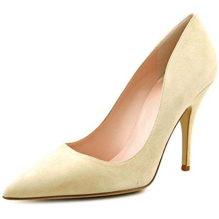 2f1ae22fe26c Kate Spade Licorice Too Women Pointed Toe Suede Nude Heels - Walmart.com