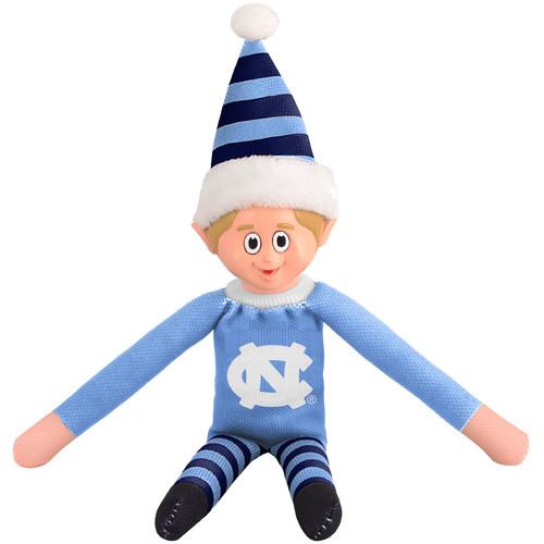 Forever Collectibles NCAA Team Elf, University of North Carolina Tar Heels