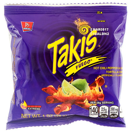New 362015  Takis Fuego 1 Oz (46-Pack) Snacks Cheap Wholesale Discount Bulk Snacks Snacks Bud Vase for $<!---->