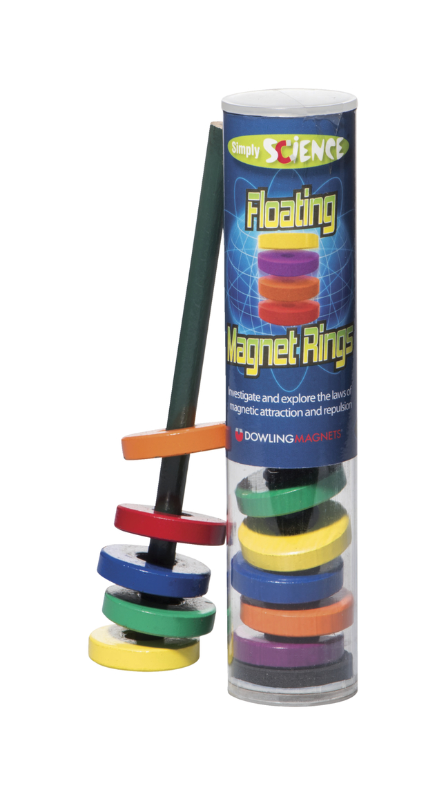Dowling Magnets Simply Science Floating Magnet Rings