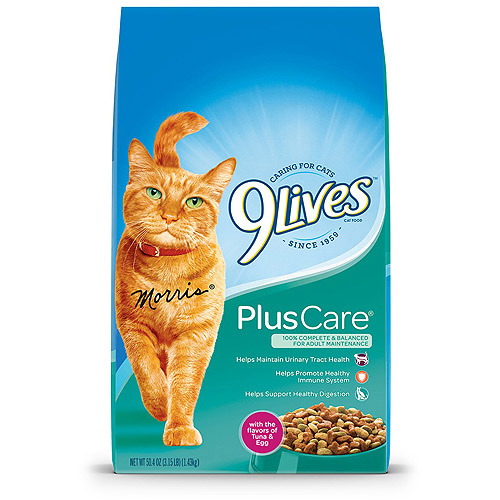9Lives Plus Care Dry Cat Food, 3.15-Pound by Del Monte Pet Products