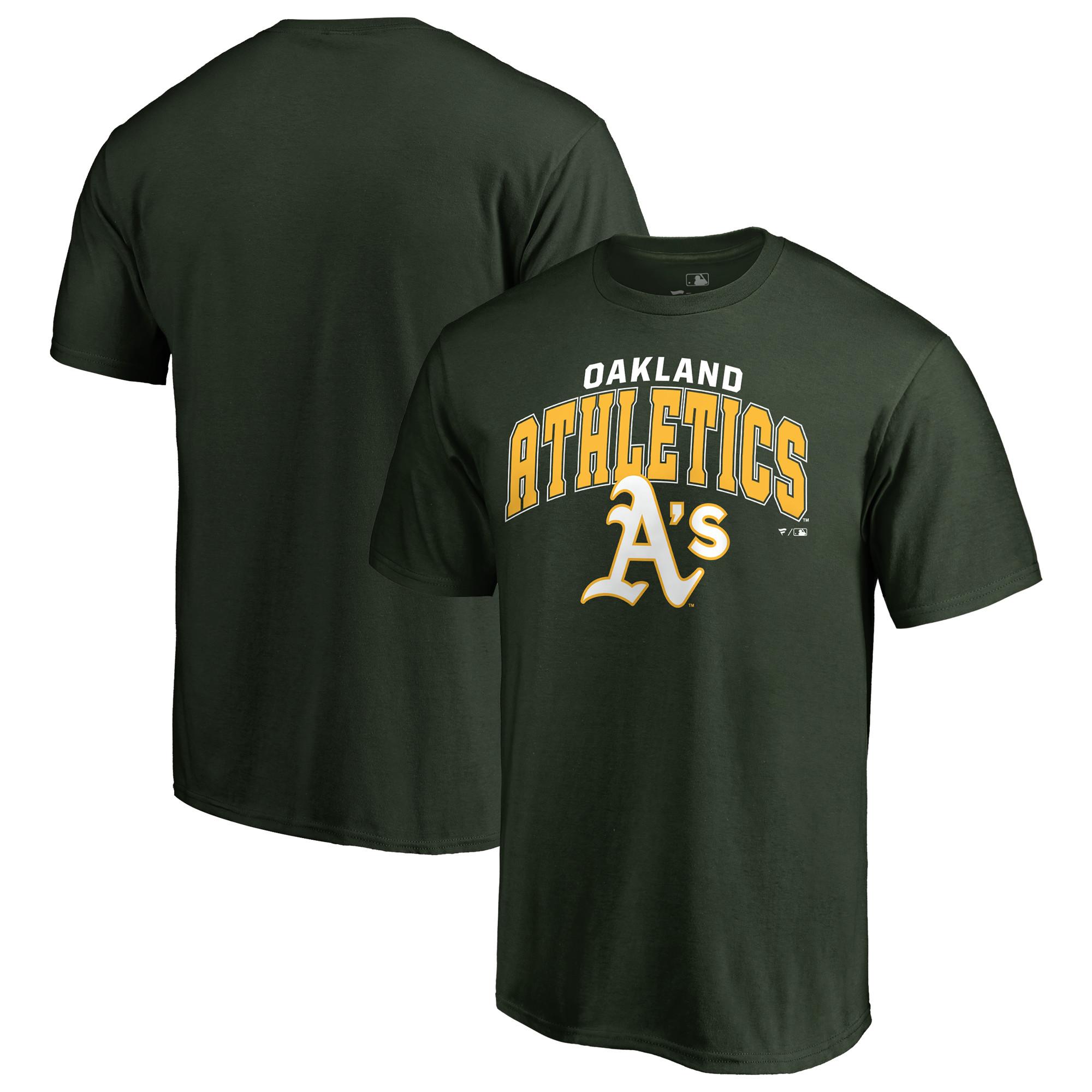 Oakland Athletics Fanatics Branded T-Shirt - Green