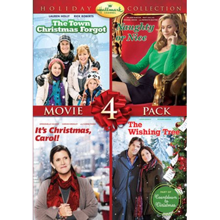 Hallmark Holiday Collection 3: The Town That Christmas Forgot / Naughty Or Nice / It's Christmas, Carol! / The Wishing Tree (DVD)