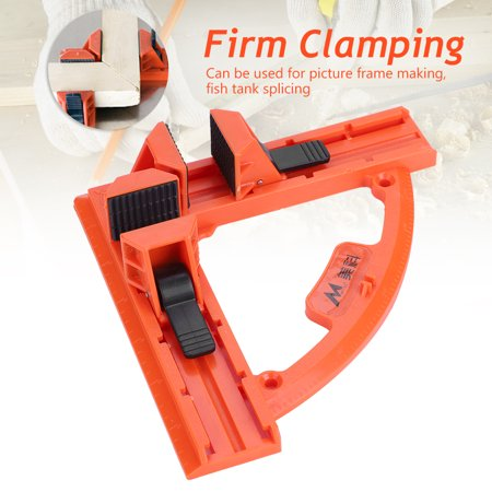 - Hilitand Plastic 90 Degree Right Angle Quick Corner Clamp Picture Photo Frame Woodworking Hand Tool