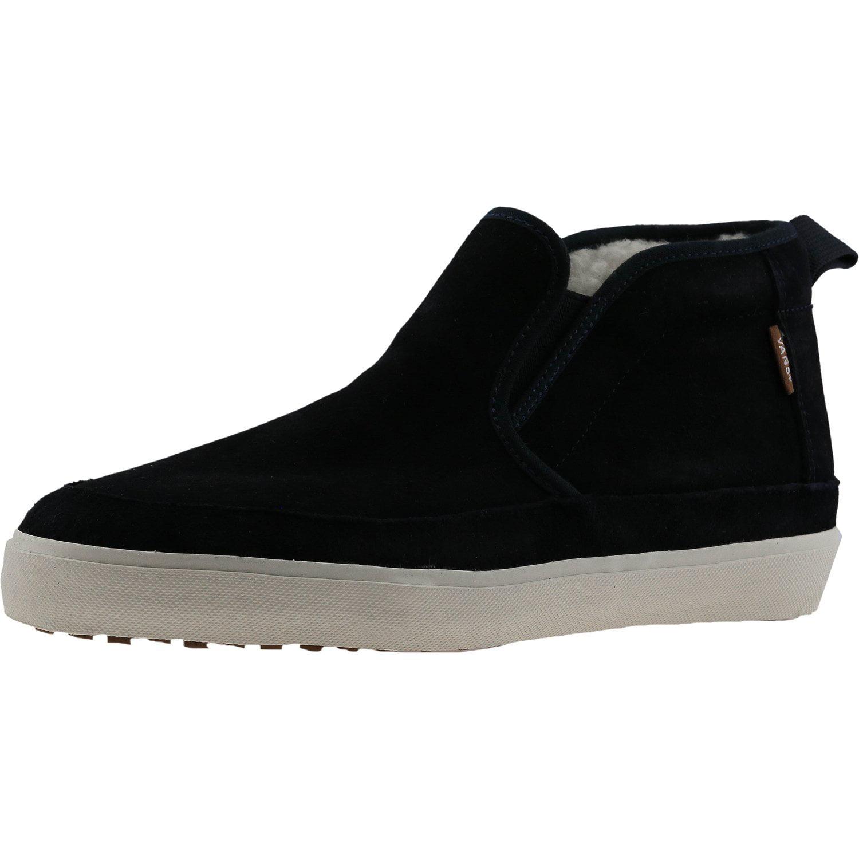 d0342c27780 Vans - Vans Men s Mid Slip Sf Mte Blue Graphite Ankle-High Suede Fashion  Sneaker - 11M - Walmart.com