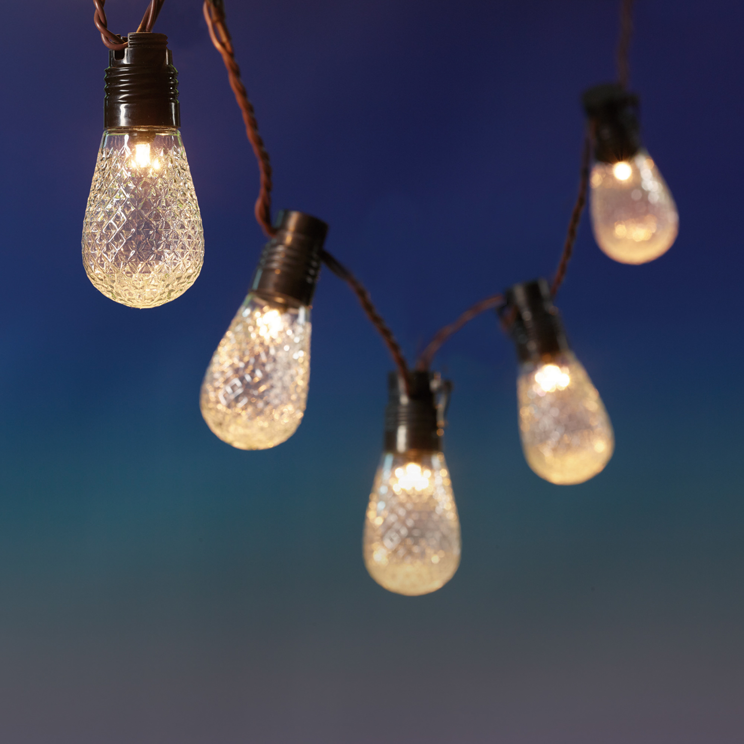 10ct String to String LED Vintage Light Set