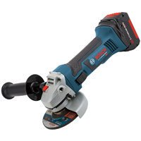 Bosch CAG180-01 Cordless Angle Grinder, 18 V, Li-Ion, 10000 rpm, 4-1/2 in Wheel