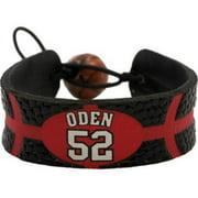 GameWear GWBKTPORGO Portland Trailblazers Greg Oden Team Color NBA Jersey Bracelet