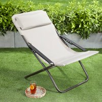 Mainstays Carine Outdoor Folding Lawn Chair