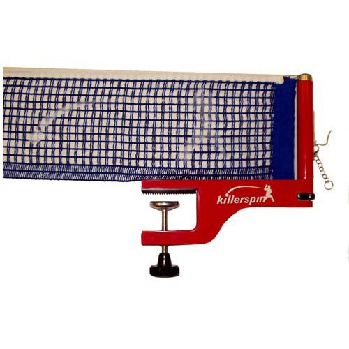 Killerspin 603-05 Aurora Table Tennis Net And Post Set with Cotton Netting