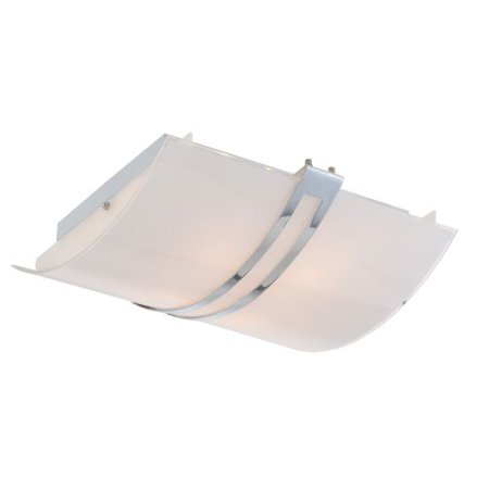 Lite Source Ls 5573 Galena 15 5   Wide 4 Light Flush Mount Ceiling Fixture With F