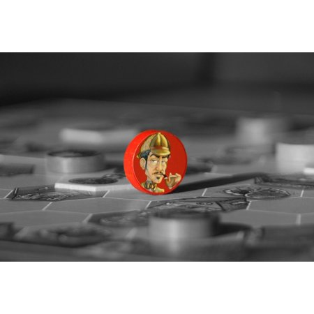 LAMINATED POSTER Mr Jack Hobby Game Play Board Game Poster Print 24 x