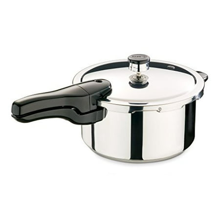 Presto 01341  4-Quart Stainless Steel Pressure (10 Quart Pressure Cooker As Seen On Tv)