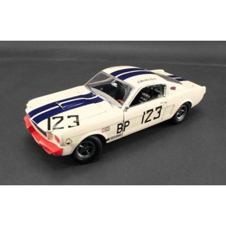 1965 Ford Shelby Mustang GT350 R #123 Signed by Charlie Kemp Limited to 123pcs 1/18 by Acme