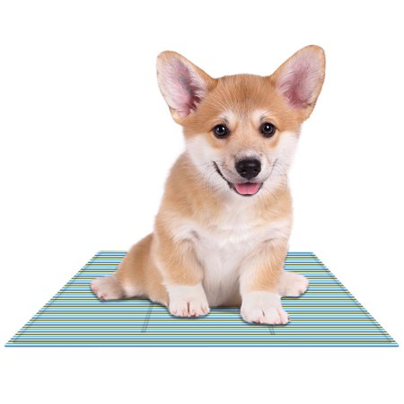 Eutuxia Cooling Mat - Soft Gel Pad for Dogs, Cats, Pets, Couches, Chairs, Car Seats, Floors - Non-Toxic Polymer Material - Keep Yourself & Pets Comfortable & Cool - Must have Item for Summers [Small] (Must Have Bee)
