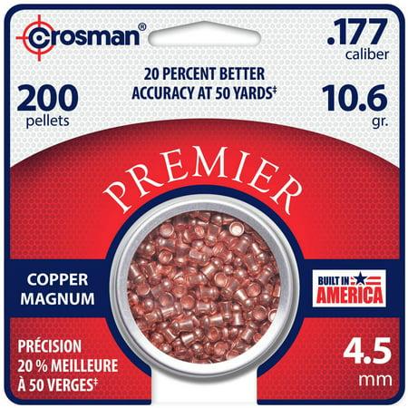 Crosman Copper Magnum Domed Pellet .177 Caliber 10.6 Grain 200Ct. CPD77